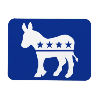 Democrat Donkey Premium Magnet