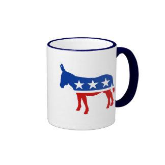Democrat Donkey Ringer Coffee Mug