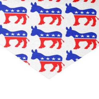 Democrat Donkey Tissue Paper