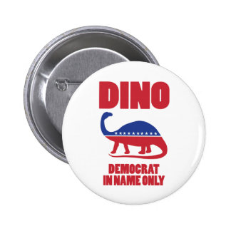 Democrat In Name Only (DINO) buttons