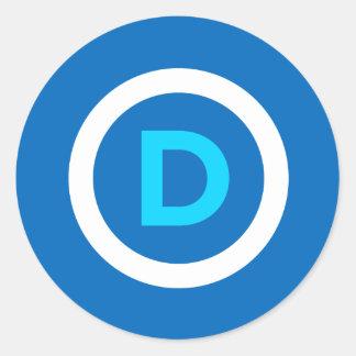 Democrat Logo Stickers