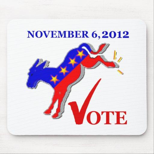 Democrat Mousepad