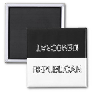 Democrat or Republican? Magnet