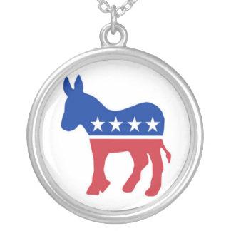 Democrat Party Necklace