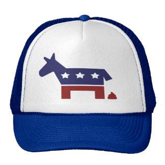 Democrat Poop Mesh Hats