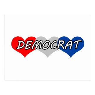 Democrat Post Cards