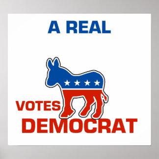 Democrat Poster