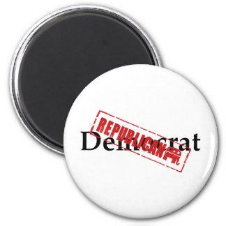 Democrat REPUBLICAN Fridge Magnets
