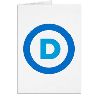 Democratic Greeting Card