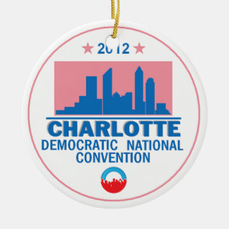 Democratic Convention Christmas Ornament