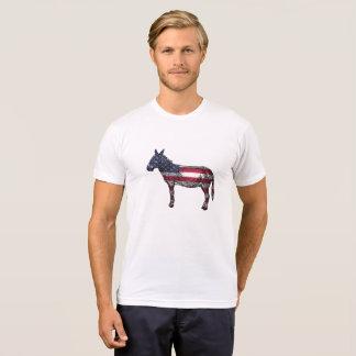 Democratic Donkey American Flag Shirt