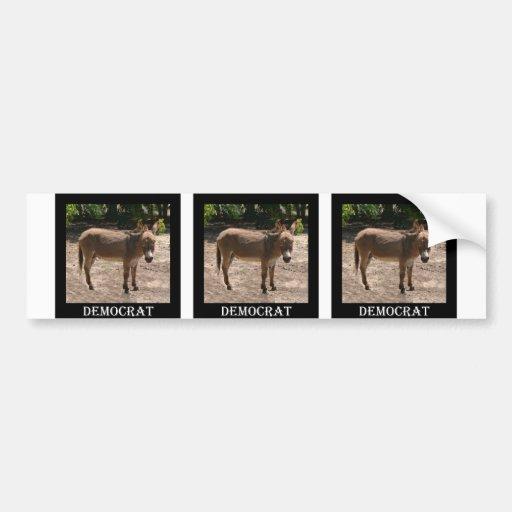 Democratic Donkey Bumper Stickers