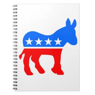 Democratic Donkey Notebook