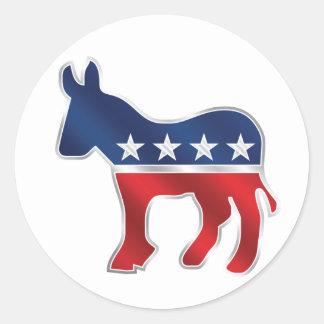 Democratic Donkey Sticker