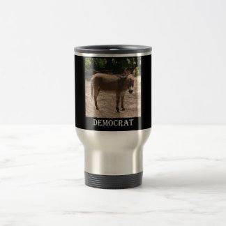 Democratic Donkey Travel Mug