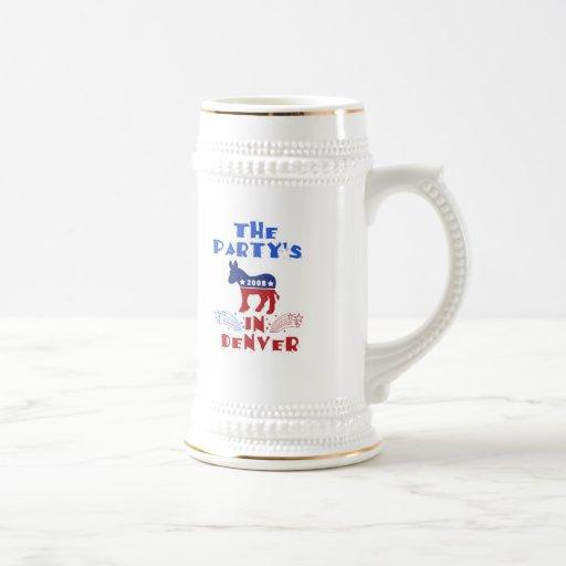 Democratic National Convention 2008 Denver Colorad Coffee Mug