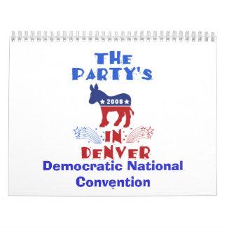 Democratic National Convention Calendar 2008