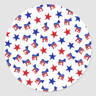 Democratic Party Collage Stickers