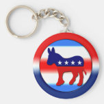 Democratic Party Key Chain