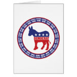 Democratic Party Wins Greeting Card