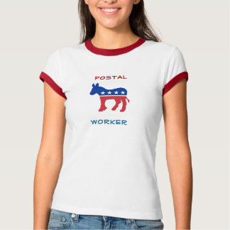Democratic Postal Worker T-Shirt