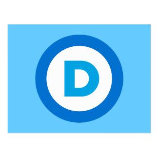 Democratic Postcard