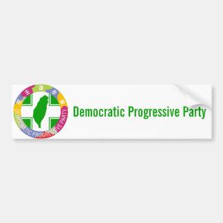 Democratic Progressive Party Bumper Sticker