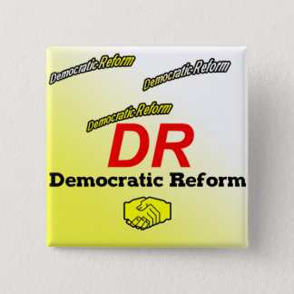 Democratic Reform Party Logo 15 Cm Square Badge