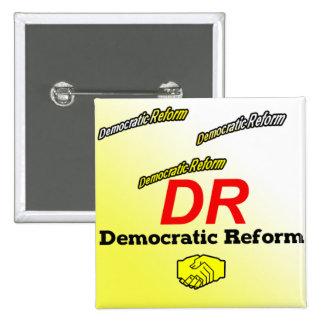 Democratic Reform Party Logo 15 Cm Square Badge