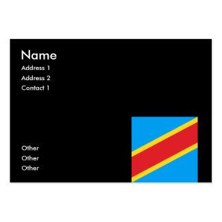 Democratic Republic of Congo Business Cards