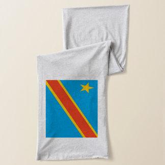 Democratic Republic of Congo Flag Scarf