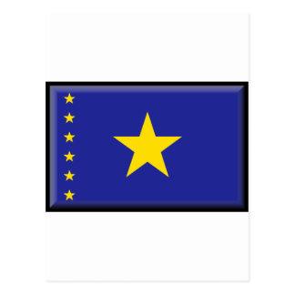 Democratic Republic of the Congo Flag Postcard