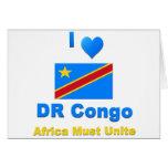 Democratic Republic of the Congo Greeting Card