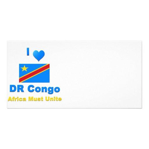Democratic Republic of the Congo Custom Photo Card