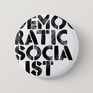 Democratic Socialist 6 Cm Round Badge