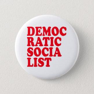 Democratic Socialist 6 Cm Round Badge
