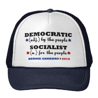 Democratic Socialist Bernie Sanders Cap