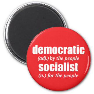 Democratic Socialist Definition Magnet