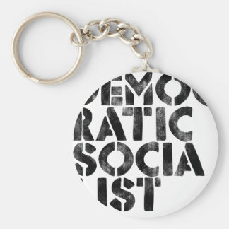 Democratic Socialist Key Ring