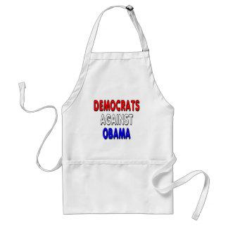 Democrats against Obama Standard Apron