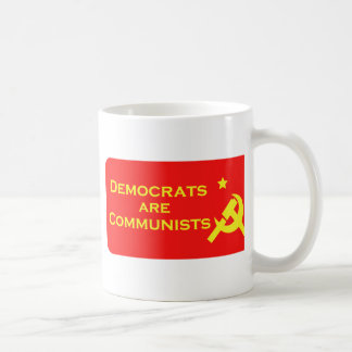 Democrats are Commies Basic White Mug