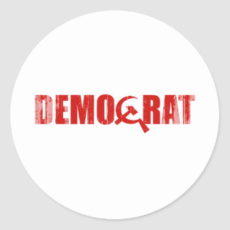 Democrats are Communist Faded.png Stickers