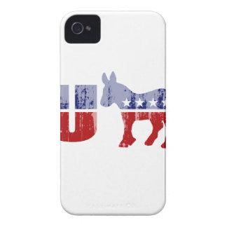 Democrats are Dumb Faded.png iPhone 4 Cases