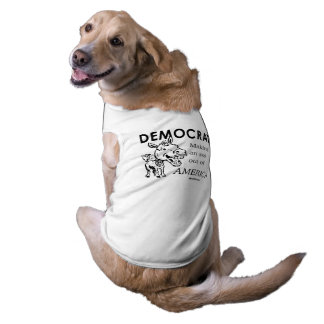 Democrats are making an a s s out of America Sleeveless Dog Shirt