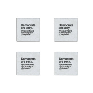 Democrats are sexy stone magnet
