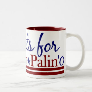Democrats for McCain Palin Two-Tone Coffee Mug