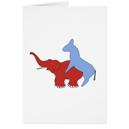 Democrats Love Republicans Card