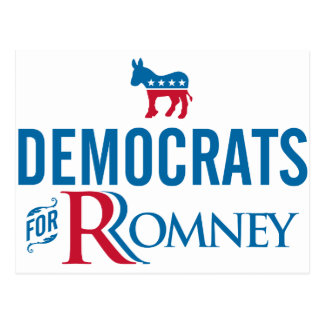 Democrats Postcard
