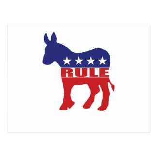 Democrats Rule Postcard