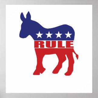 Democrats Rule Poster